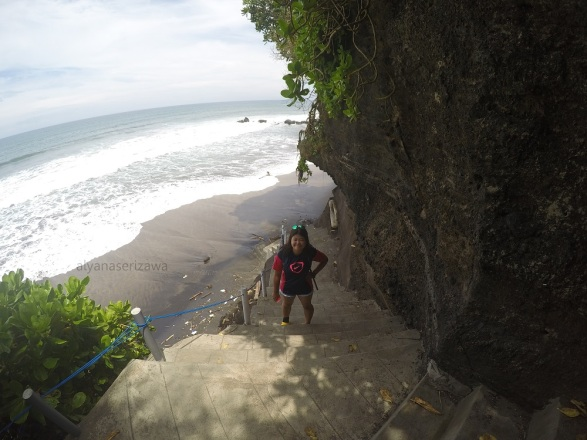 view di Tanah Lot